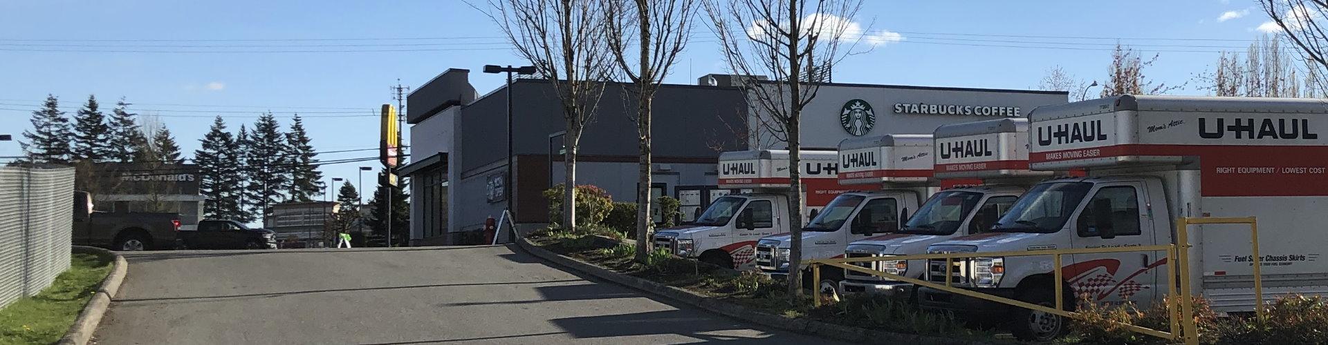 U-haul Trucks Onsite